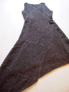 Платье-конструктор из вязаных квадратов (Diy) / Вязание / Своими руками - выкройки, переделка одежды, декор интерьера своими руками - от ВТОРАЯ УЛИЦА