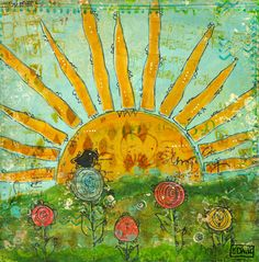 Sunrise by Ruth Davis, via Flickr--- Good inspiration for a mosaic...