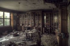 Abandoned Mansions and Castles.. (Western Europe)