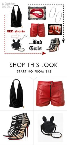 """for Bad Girls"" by mario1977lodz ❤ liked on Polyvore featuring Magda Butrym, Christian Louboutin and Michael Kors"