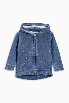 Buy Dark blue patterned sweatshirt with a hood (3 m -6 years) online today at Next: Czech Republic