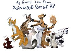 RainWood RP/ Fave characters! By winter warrior
