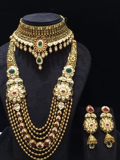 More gold and more majesty Jewelry by Sood Jewellers, Delhi #weddingnet #wedding #india #indian #indianwedding #weddingdresses #weddingsaree #indianweddingoutfits #outfits #details #sweet #cute #gorgeous #fabulous #jewels #rings #tikka #earrings #sets #lehnga