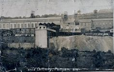 Old Photo of Britannia Colliery, Pengam, South WALES.