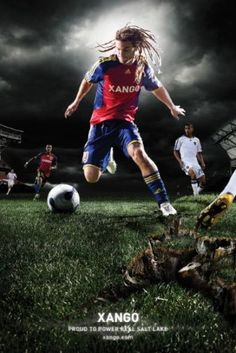 XANGO Futbol. #xango #realsaltlake #soccer