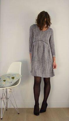 clarisse, patron chez Machine Coin Couture, Patron Couture, Coudre Robe,  Idées À b61d9e61f54