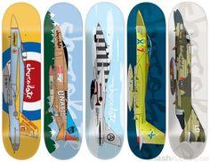 Chocolate Skateboard graphics Jet series Skateboarding
