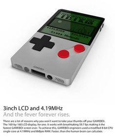 GAMEBOi – Un concept de Gameboy inspiré du design de l'iPhone 4 |