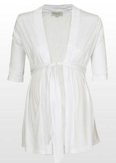 Light summer maternity cardigan- a closet staple