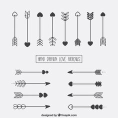 Discover the best free resources of Love Arrow Bullet Journal Writing, Bullet Journal Inspiration, Doodle Lettering, Brush Lettering, Bujo Doodles, Neue Tattoos, Lettering Tutorial, Small Tattoos, Small Arrow Tattoos