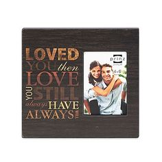 The Prinz 4-Inch x 6-Inch All In The Family Wood Picture Frame is perfect for displaying the warm and happy memories you have with your family. The wooden frame includes multiple words and sentiments that are sure to make everyone in your home smile.
