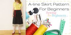 Free A-line Skirt Pattern For Beginners