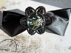 This hair clip is made of black ribbon and black lace with motif from the Corpse bride movie under the resin. A french clasp is from the other side, dimension is approx. Corpse Bride Movie, Black Ribbon, Bride Hairstyles, Hair Clips, Cuff Bracelets, Lace, Resin, Handmade, Etsy Shop
