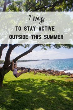 Do you struggle to spend time outdoors in the summertime? Outdoor Gym, Outdoor Workouts, Gym Workouts, At Home Workouts, Outdoor Fitness Equipment, No Equipment Workout, Outdoor Activities For Kids, Summer Activities, Stay Active