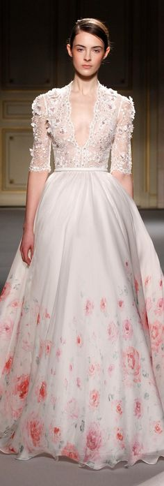 Weddbook is a content discovery engine mostly specialized on wedding concept. You can collect images, videos or articles you discovered organize them, add your own ideas to your collections and share with other people | Georges Hobeika haute couture 2013 ~