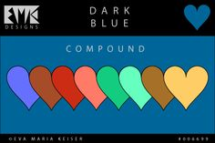 "Explore Color: ""Dark Blue"" - Compound"