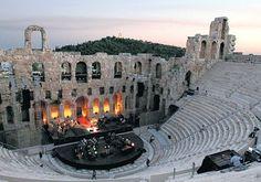World Theatre Day - Ancient theater of Epidaurus, Greece
