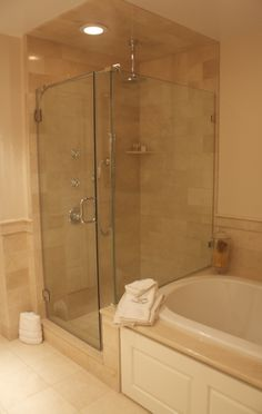 Tile shower done by Paramount Rug Company