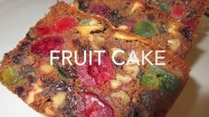 A Christmas cake that dates back to ancient Rome! Deronda demonstrates how to make this modern America FRUIT CAKE. loaded with an assortment of dried fruits, nuts and a splash… Xmas Food, Christmas Baking, Christmas Goodies, Christmas Cakes, Christmas Desserts, Seafood Recipes, Cooking Recipes, Condensed Milk Cake, Cupcake Cakes