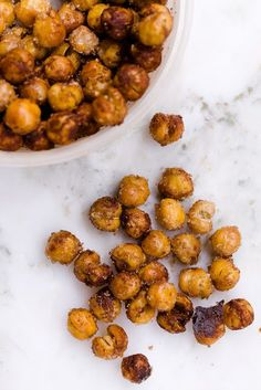 Sweet and Salty Roasted Chickpeas by cupcakeproject - Cheap, Easy, and Addictive Chickpeas Snacks cupcakeproject
