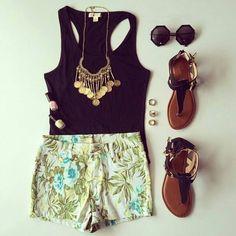 Summer style.  ♡