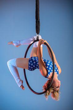 Aerial Hoop with Pole Perfect Fitness.