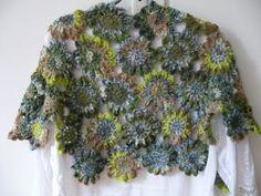 Zonnebloemetje's Freubelhoek: Sjaal met japanse bloemen is af