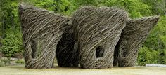 Woven Whimsy: Stickworks by Patrick Dougherty, on view at:Atlanta Botanical Garden, Gainesville, beginning April 9, 2016.