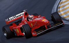 Michael Schumacher (GER) (Scuderia Ferrari Marlboro), Ferrari F300 - Ferrari 047 3.0 V10 (finished 3rd) 1998 Brazilian Grand Prix, Autódromo José Carlos Pace (Interlagos)