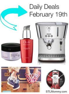 STL Mommy « Daily Deals – Espresso Machine, TOMS Shoes, Olay Regenerist + More