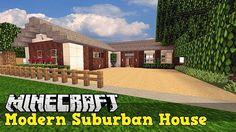 Casa Moderna Minecraft PE MINECRAFT CREACIONES Pinterest