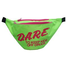 D.A.R.E. Fanny Pack Green - Every child from the 90's should recognize this one ;)