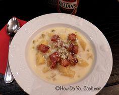 White Cheddar Potato Soup with Killian's Ale