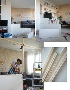 DIY / Ma verrière d'intérieur esprit atelier d'artiste « fait maison »
