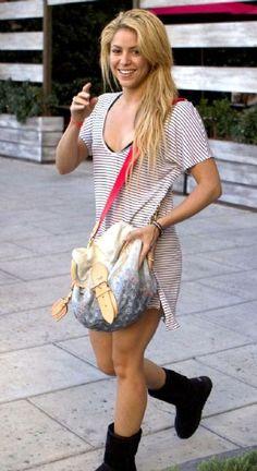 Shakira Fashion and Style