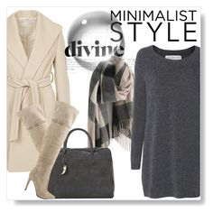 """""""Chic Minimalist Style"""" by andrejae ❤ liked on Polyvore featuring moda, Betty Barclay, Chinese Laundry, Balmain, Fine Collection e Minimaliststyle"""