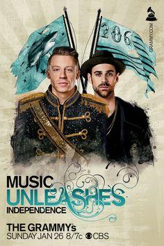 Music Unleashes Us pour les Grammy Awards poster