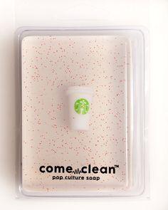 """""""""""Starbucks White Peppermint Mocha"""""""" Natural Soap"""