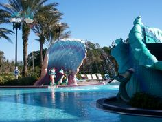 Pool time with some friends at #Disney's Port Orleans Resort French Quarter