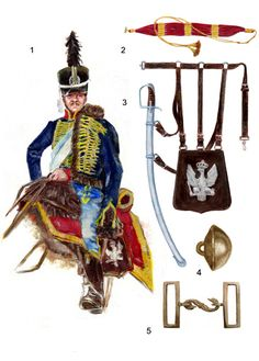 Napoleon.org.pl - Huzarzy Księstwa Warszawskiego 1809-1813 Empire, Fiction, Crimean War, Arm Armor, Industrial Revolution, Napoleonic Wars, Modern Warfare, American Civil War, Warsaw