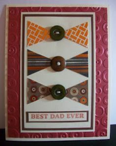 Best Dad Ever. Stampin' Up!