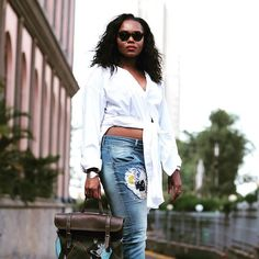 @dianaopoti is giving us denim goals today! Head to GLAMOUR.co.za to find out where her pieces are from. #GLAMfashion  via GLAMOUR SOUTH AFRICA MAGAZINE OFFICIAL INSTAGRAM - Celebrity  Fashion  Haute Couture  Advertising  Culture  Beauty  Editorial Photography  Magazine Covers  Supermodels  Runway Models