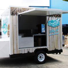 Coco Mo Ice Cream Trailer