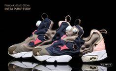 #Reebok x GarbStore INSTA PUMP FURY #sneakers