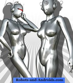 Gynoid Sex Bot 14