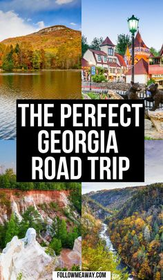 Cool Places To Visit, Places To Travel, Places To Go, Us Road Trip, Road Trip Hacks, Travel Around The World, Travel Usa, Travel Inspiration, Georgia Usa