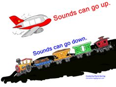 Plane or Train? Sounds Go Up and Sounds Go Down