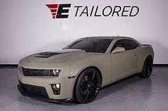 2014 Chevrolet Camaro ZL1, Headers, Corsa Exhaust, Custom Wrap,TRADES/FINANCING