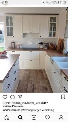 Modern And Trendy Kitchen Cabinets Ideas And Design Tips – Home Dcorz Cosy Kitchen, New Kitchen, Kitchen Decor, Kitchen Cabinet Design, Kitchen Cabinets, Grey Kitchen Interior, Small Space Interior Design, Dinner Room, Updated Kitchen