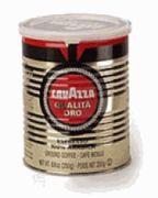 Espresso Coffee Ground Lavazza Qualita Oro #1275 1 Case